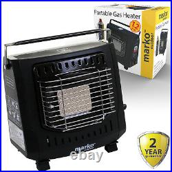 1.3KW Portable Gas Heater Camping Caravan Fishing Butane Gas Canister Outdoor
