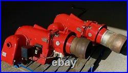 1 X Weishaupt Monarch Gas Burner G70 300-1750 KW Modulating Industrial Heater
