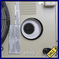 125000 BTU Forced Air Fan Propane Heater Spark Ignition Garage Barn Space Warmer
