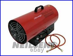 15KW 52000 BTU Lpg Gas Space heater with hose & regulator New CT2140