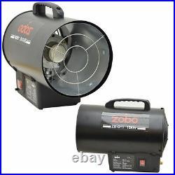 15kw Industrial Commercial Heaters Propane Gas Forced Space Workshop Garage Fan