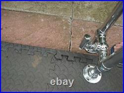 2 Myson Victorian vintage Chrome style Bathroom Towel Radiators