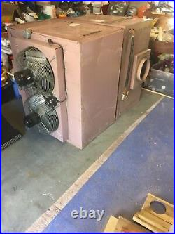 2 ambirad industrial overhead heaters for sale £250 each