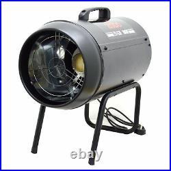 30kw Commercial Blower Fan LPG Gas Workshop Garage Floor Industrial Heaters