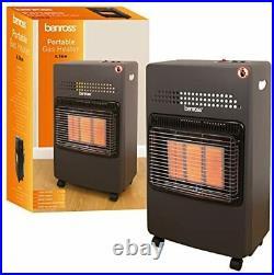 4.1kw Calor Gas Portable Cabinet Heater Fire Butane With Regulator & Hose New