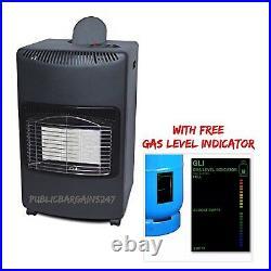 4.1kw Portable Gas Calor Heater Workshop Garage Home Lpg Butane Regulator/hose