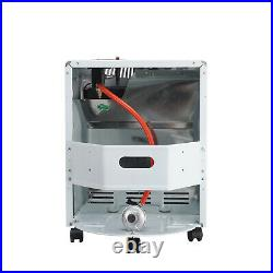 4.2KW Calor Gas Portable Cabinet Heater Fire Butane Ceramic with Regulator Hose