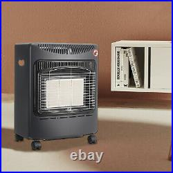 4.2KW Portable Fire Calor Gas Heater LPG Cabinet Butane with Free Regulator Hose