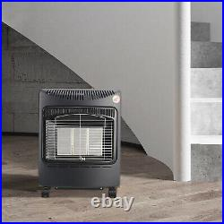 4.2KW Small Cabinet Calor Mobile Gas Heater Indoor Portable Ceramic Piezo Butane