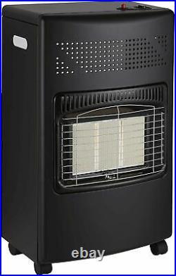4.2Kw Portable Home Heater Butane Fire Calor Gas Cabinet With Regulator Hose