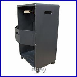 4.2kw Calor Gas Portable Cabinet Heater Fire Butane With Regulator & Hose New