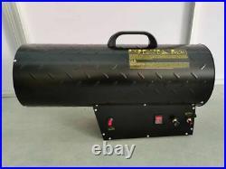 50KW Gas Industrial Heater Propane LPG Workshop/Garage Black 175000 BTU ct459