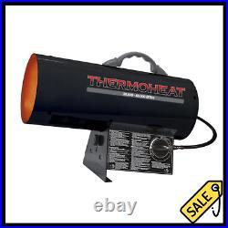 60000 BTU Forced Air Fan Propane Gas Heater Spark Ignition Garage Space Warmer