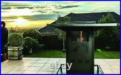 Alfresco Spaces FireNTable patio heater table fire pit