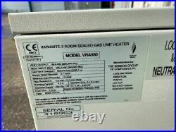 BENSON VARIANTE INDUSTRIAL SPACE HEATER / WARM AIR GAS HEATER 96 Kw