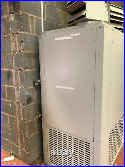 Benson PV Tubular Cabinet Gas Heater Model PV72-1 72kW Floor Mounted Gas Heater
