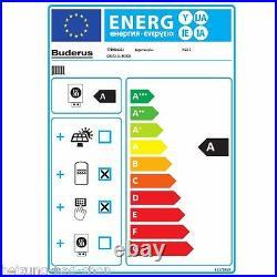 Buderus Gas Brennwert Gerät Therme Logamax plus GB 172 24KW mit RC 310 W22 S