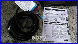 Dayton 3VE59 120VAC 300000 BtuH Output 1800 CFM Portable Gas Torpedo Heater