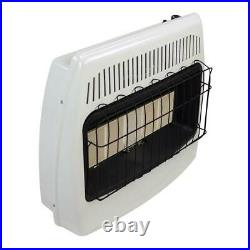 Dyna Glo 30000BTU Wall Heater Vent Free Infrared LP Variable Heat Manual Control