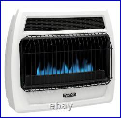 Dyna-Glo BFSS30LPT-4P 30,000 BTU Blue Flame Vent Free Radiant Propane Gas Heater