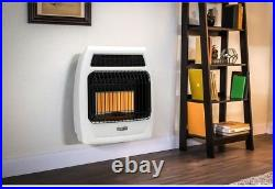 Dyna-Glo Wall Heater Thermostat Control Natural Gas Radiant Indoor