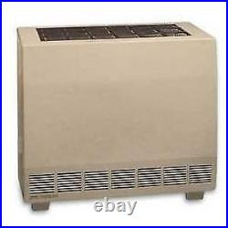 Empire 50,000 Btu Closed Front Vented Natural Gas Heater With Blower Rh50cbnat