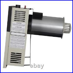 Gas Wall Heater 17,000 BTU Vented Dial-Control Convection Surface Mounted