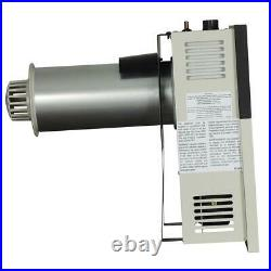 Gas Wall Heater Vented Indoor Surface Mounted Stainless Steel Variable Beige