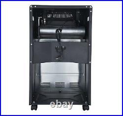 HEATSURE Portable Gas & Electric Combo Heater 4.2KW Regulator Hose Included