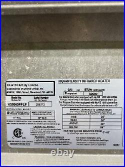 Heatstar High Intensity Infrared Heater Propane Gas 60000 BTU HS8060PPLP Y-20