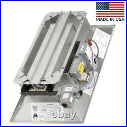Infrared Natural Gas Heater 120,000 BTU 3,000 Sqft 120 Volts Radiant