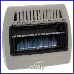 Kozy World KWN375 Wall Heater Natural Gas 30000 BTU Blue Flame 1250 Sq Ft Heater