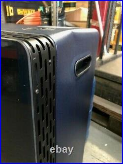 Lifestyle Azure Blue Glass Front Gas Cabinet Heater Ex Showroom/demo/dented