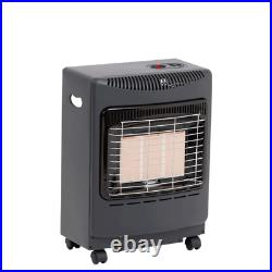Lifestyle Black Mini Heatforce 4.2kw Radiant Portable Gas Heater