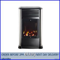 Manhattan Portable Gas Heater (3.4kw) Calor Real Flame