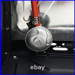 Mobile Cabinet Fire Calor Gas Heater Room Indoor Portable Ceramic Piezo Butane