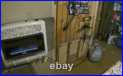 Mr. Heater 20,000 BTU Vent Free Blue Flame Gas Heater Shed Garage Home Cabin