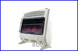Mr Heater 30000 BTU Vent Free Blue Flame Natural Gas Wall or Floor Indoor Heater