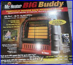 Mr. Heater Big Buddy Heater witho Fan, 18000 BTU Standard, Red Mh18b