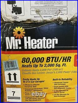 Mr. Heater MHU80 Convection Heater F260560