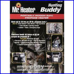 Mr Heater Mh12B 12000 Btu Hunting Buddy Portable Propane Gas Heater, Camo
