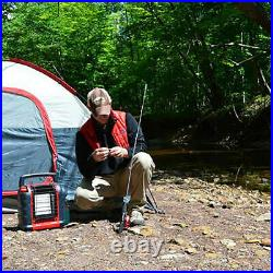 Mr. Heater Portable Buddy Outdoor Camping Propane Gas Heater Canada Version, Red