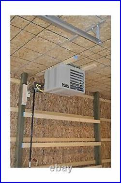 Mr Space Heater Natural Gas Unit Big Maxx 50000 BTU 1 Pack Powered Exhaust 115V
