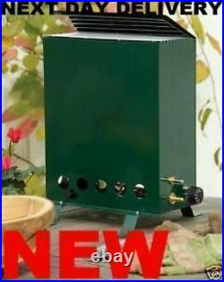 NEW propane 2.0KW Greenhouse Heater complete with a full 19kg calor gas bottle