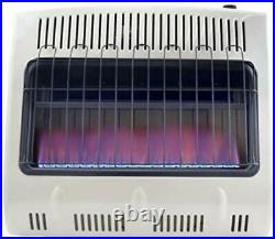 Natural Gas Heater Vent Free Blue Flame Wall Mountable Theromostat ODS 30000 BTU
