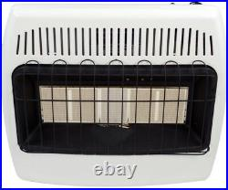 Natural Gas Infrared Wall Heater Unvented Home Garage Radiant Emergency Dyna-Glo