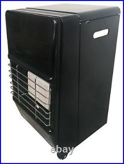 New 2 Setting Small Heater With Calor Gas Lpg Full Bottle & Reg Portable Mini