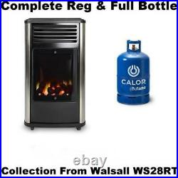 New Complete With Full Calor Gas Bottle Manhattan 3.4kw Portable Heater
