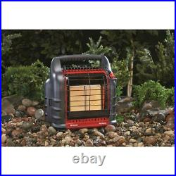 New Mr Heater Big Buddy Portable Propane Heater, 18,000 BTU For Up To 400 Sq Ft