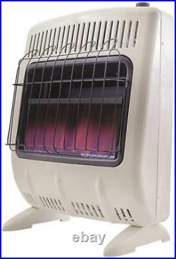 New Mr Heater F299720 Blue Flame Lp Gas Heater 20k Vent Free Thermostat 3311875